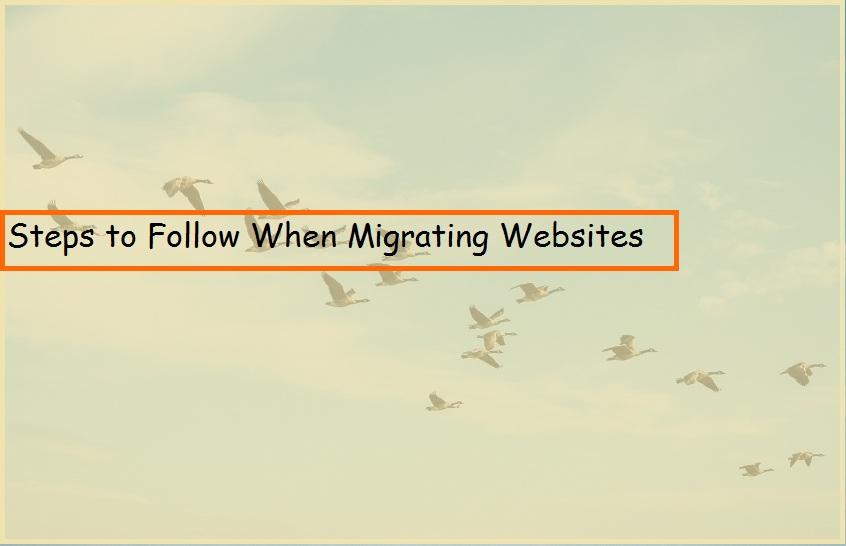 Migrating Websites