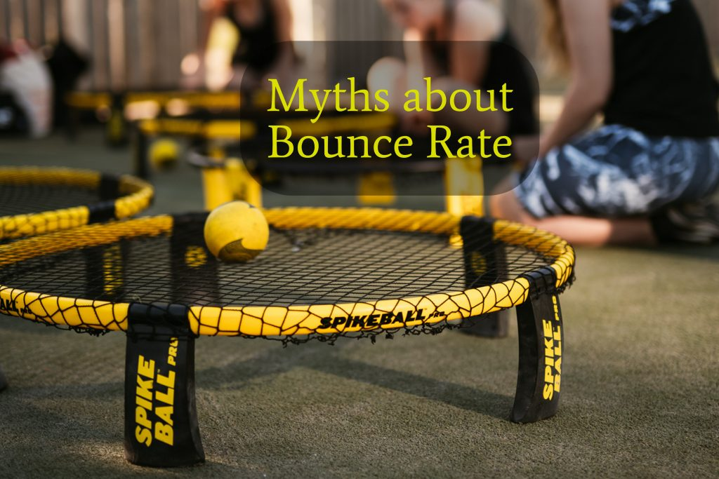 Myths about bounce rate