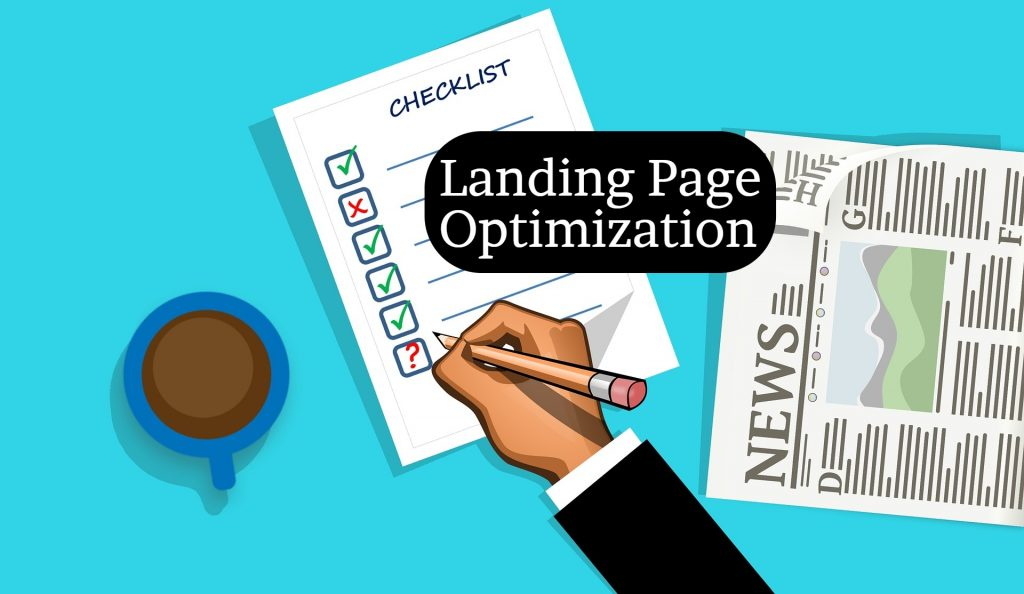 checklist for Landing Page Optimization